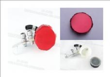 Aluminium brake reservoir set red alloy reservoir top suzuki, yamaha